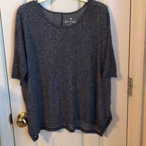 American Eagle Outfitters Baggy Short Sleeve Top
